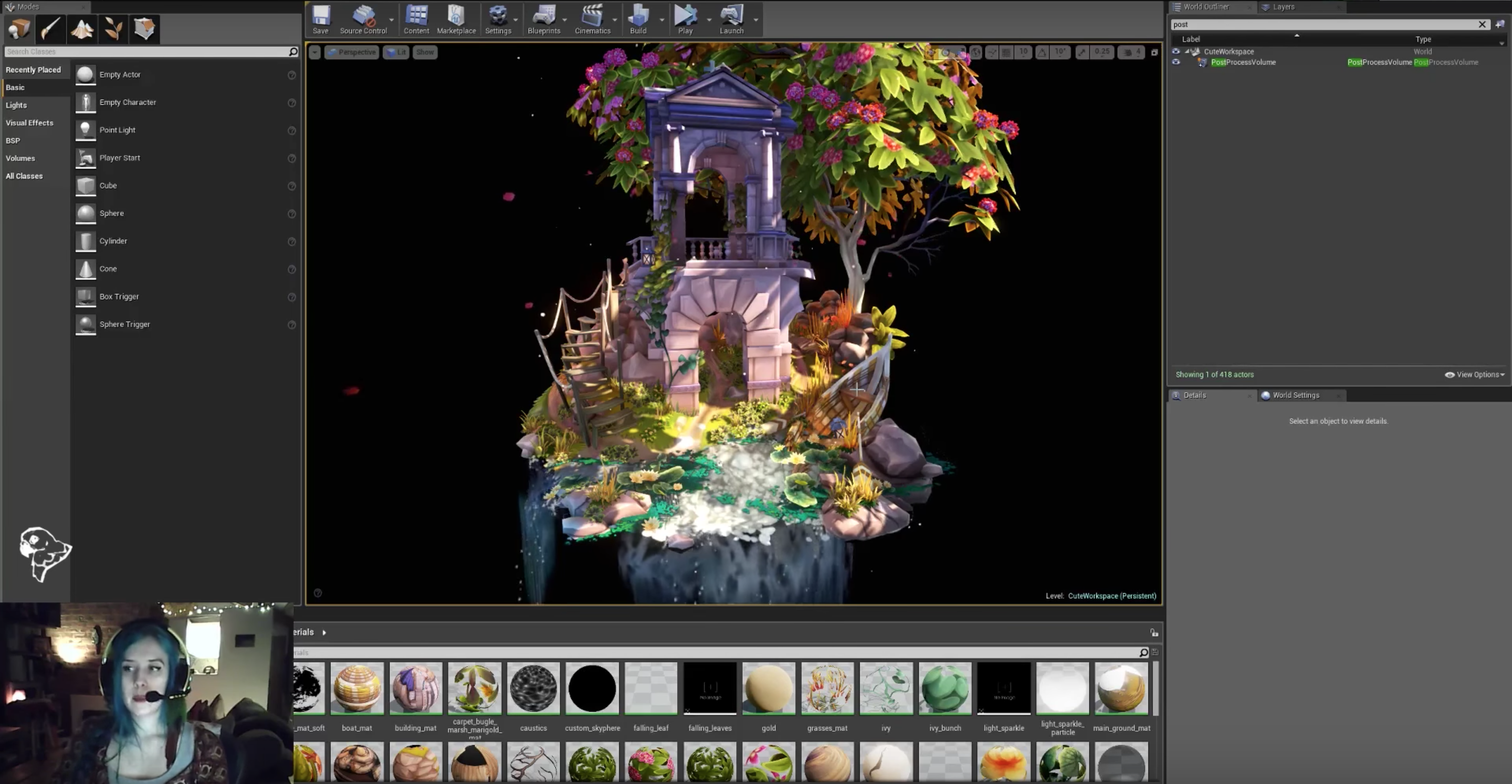 Stylised Diorama in Unreal Engine 4