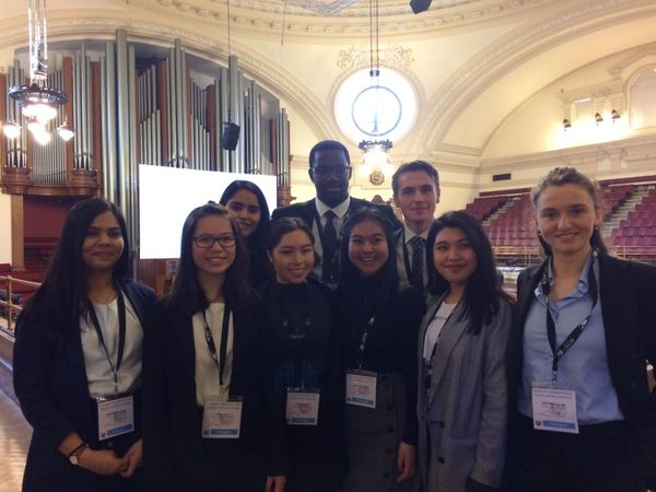 Pearson College London at LIMUN 2019